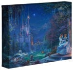 Disney Cinderella Dancing in the Starlight – 8″ x 10″ Gallery Wrapped Canvas