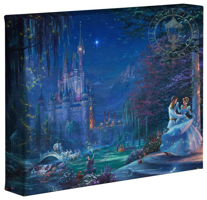 Cinderella Dancing in the Starlight – 8″ x 10″ Gallery Wrapped Canvas