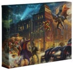The Dark Knight Saves Gotham City   – 8″ x 10″ Gallery Wrapped Canvas