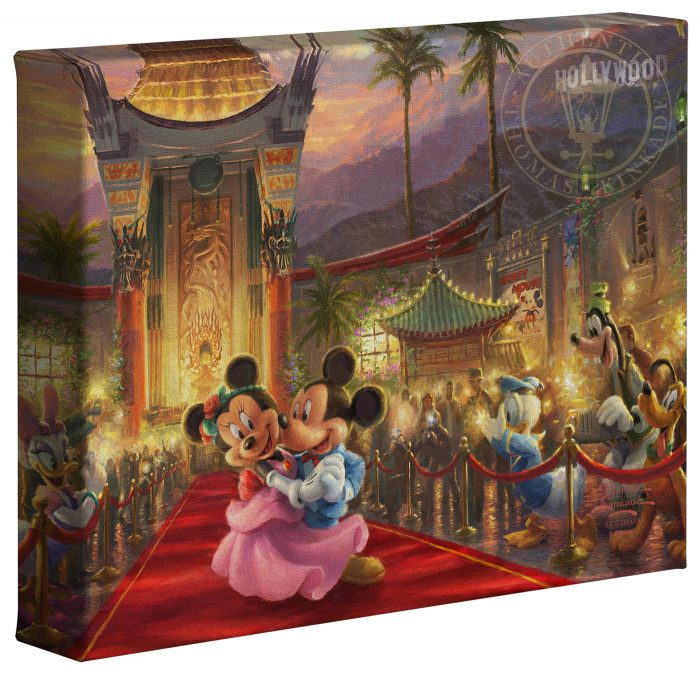 Mickey and Minnie in Hollywood – 8″ x 10″ Gallery Wrapped Canvas