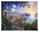 Pinocchio Wishes Upon a Star – 8″ x 10″