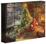 Santa's Special Delivery  – 8″ x 10″ Gallery Wrapped Canvas