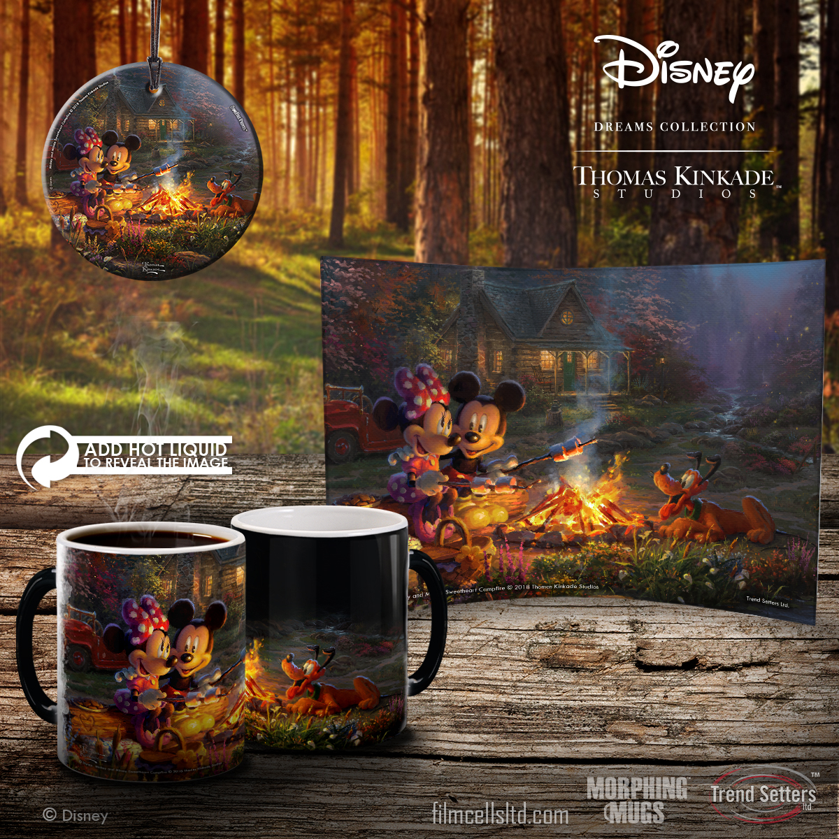 Color Changing Mug Contest Featuring Mickey and Minnie