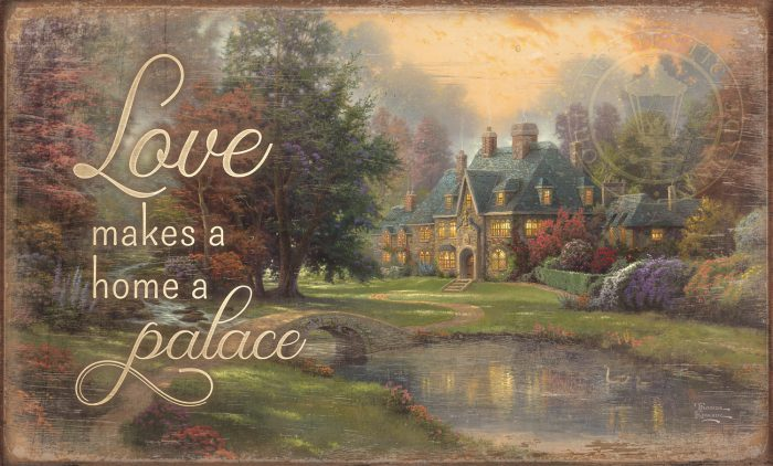 "Lakeside Manor – 18"" x 30"" Wood Sign"