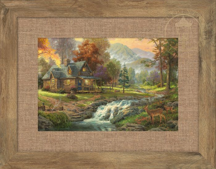 Mountain Retreat – 10.5″ x 15.75″ Framed Print