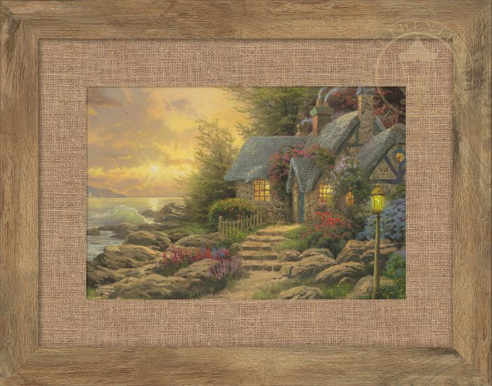 Seaside Hideaway – 10.5″ x 15.75″ Framed Print
