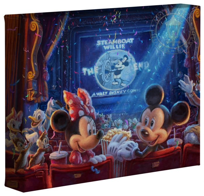90 Years of Mickey – 8″ x 10″ Gallery Wrapped Canvas