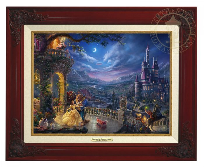 Beauty and the Beast Dancing in the Moonlight – Canvas Classics