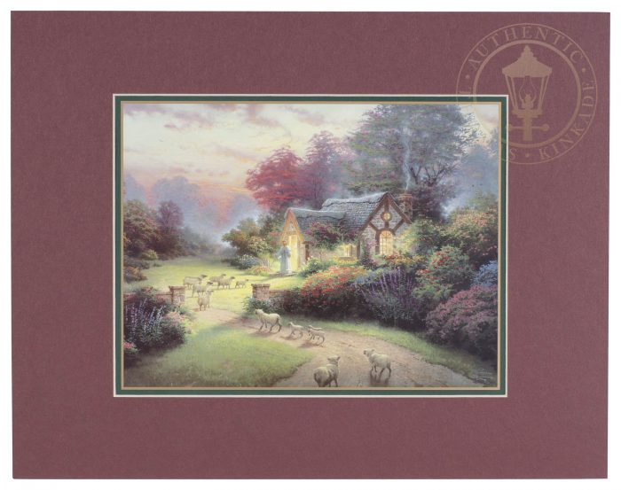 Good Shepherd's Cottage – 11″ x 14″ Matted Print