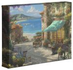 Italian Café  – 8″ x 10″ Gallery Wrapped Canvas