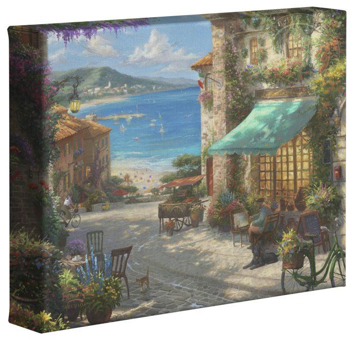 Italian Cafe – 8″ x 10″ Gallery Wrapped Canvas