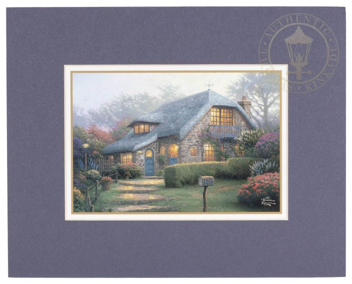 Lilac Cottage – 8″ x 10″ Matted Print