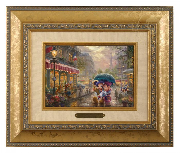 Mickey and Minnie in Paris – Brushworks