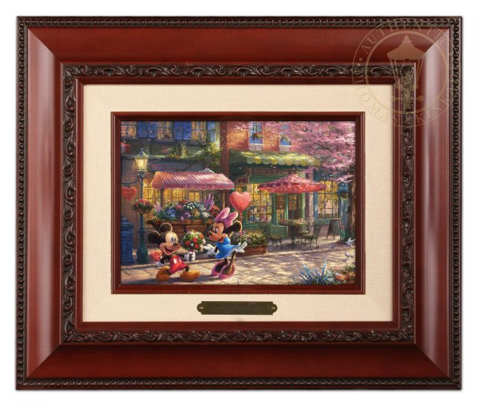 Mickey and Minnie – Sweetheart Cafe – Brushworks