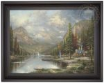 Mountain Majesty – 25.5″ x 34″ Decorator Print (At First Light Special)