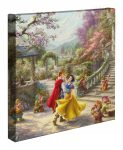 Snow White Dancing in the Sunlight – 14″ x 14″ Gallery Wrapped Canvas