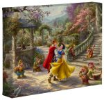 Snow White Dancing in the Sunlight – 8″ x 10″ Gallery Wrapped Canvas