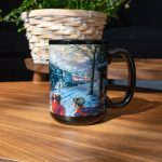 All Aboard for Christmas – Ceramic Mug, 15 oz