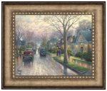 Hometown Christmas – 16″ x 20″ Brushstroke Vignette