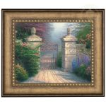 The Open Gate – 16″ x 20″ Brushstroke Vignette