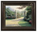 Summer Gate – 16″ x 20″ Brushstroke Vignette