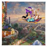 "Aladdin - 14"" x 14 "" Gallery Wrapped Canvas"