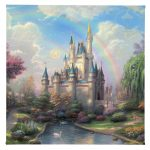 "New Day at the Cinderella Castle, A - 14"" x 14"" Gallery Wrapped Canvas"