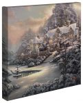Holiday At Spring Gate – 14″ x 14″ Gallery Wrapped Canvas