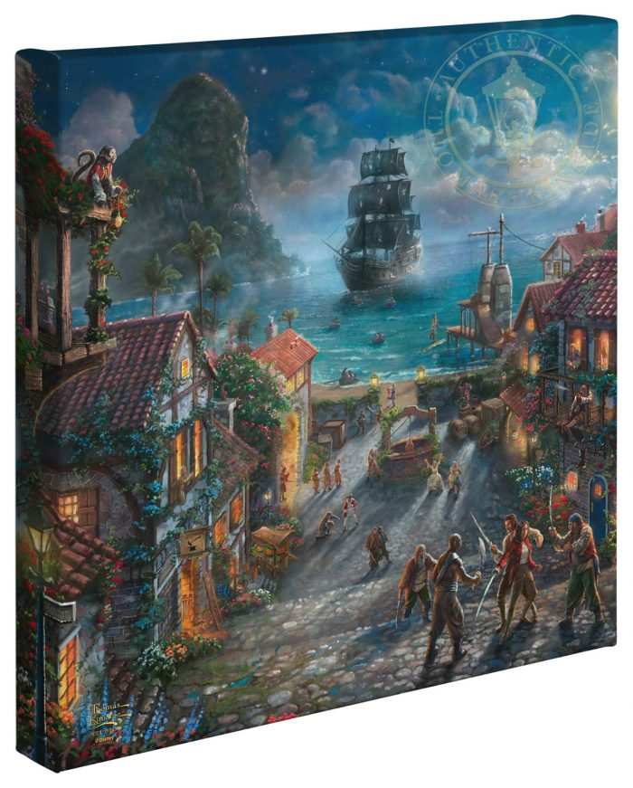 "Pirates of the Caribbean – ""14 x 14"" Gallery Wrapped Canvas"