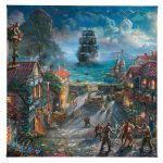 "Pirates of the Caribbean - ""14 x 14"" Gallery Wrapped Canvas"