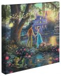 The Princess and the Frog – 14″ x 14″ Gallery Wrapped Canvas
