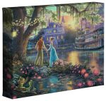 The Princess and the Frog – 8″ x 10″ Gallery Wrapped Canvas