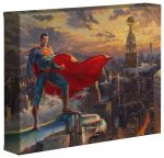 Superman – Protector of Metroplis – 8″ x 10″ Gallery Wrapped Canvas