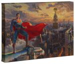 Superman – Protector of Metroplis – 10″ x 14″ Gallery Wrapped Canvas