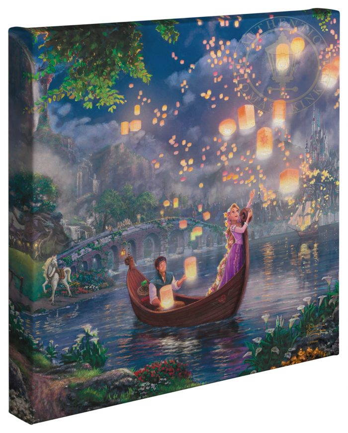 Tangled – 14″ x 14″ Gallery Wrapped Canvas