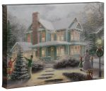 Victorian Family Christmas – 10″ x 14″ Gallery Wrapped Canvas