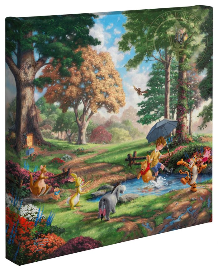 Winnie the Pooh I – 14″ x 14″ Gallery Wrapped Canvas