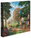 "Winnie the Pooh II – 14″ x 14 "" Gallery Wrapped Canvas"