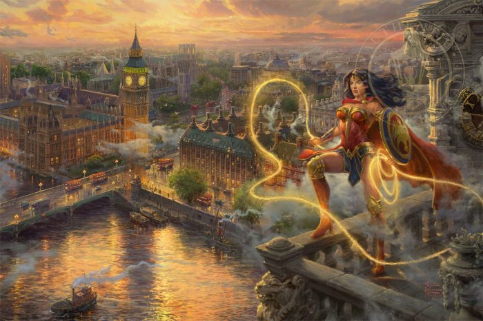 Wonder Woman – Lasso of Truth – Limited Edition Canvas