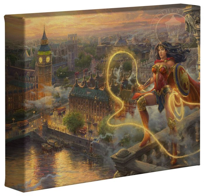 Wonder Woman – Lasso of Truth – 8″ x 10″ Gallery Wrapped Canvas