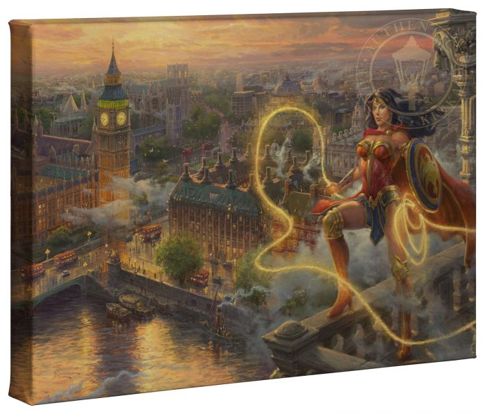 Wonder Woman – Lasso of Truth – 10″ x 14″ Gallery Wrapped Canvas