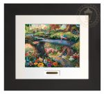 Alice in Wonderland – 22″ x 24.5″ Modern Home Collection (Espresso Frame)