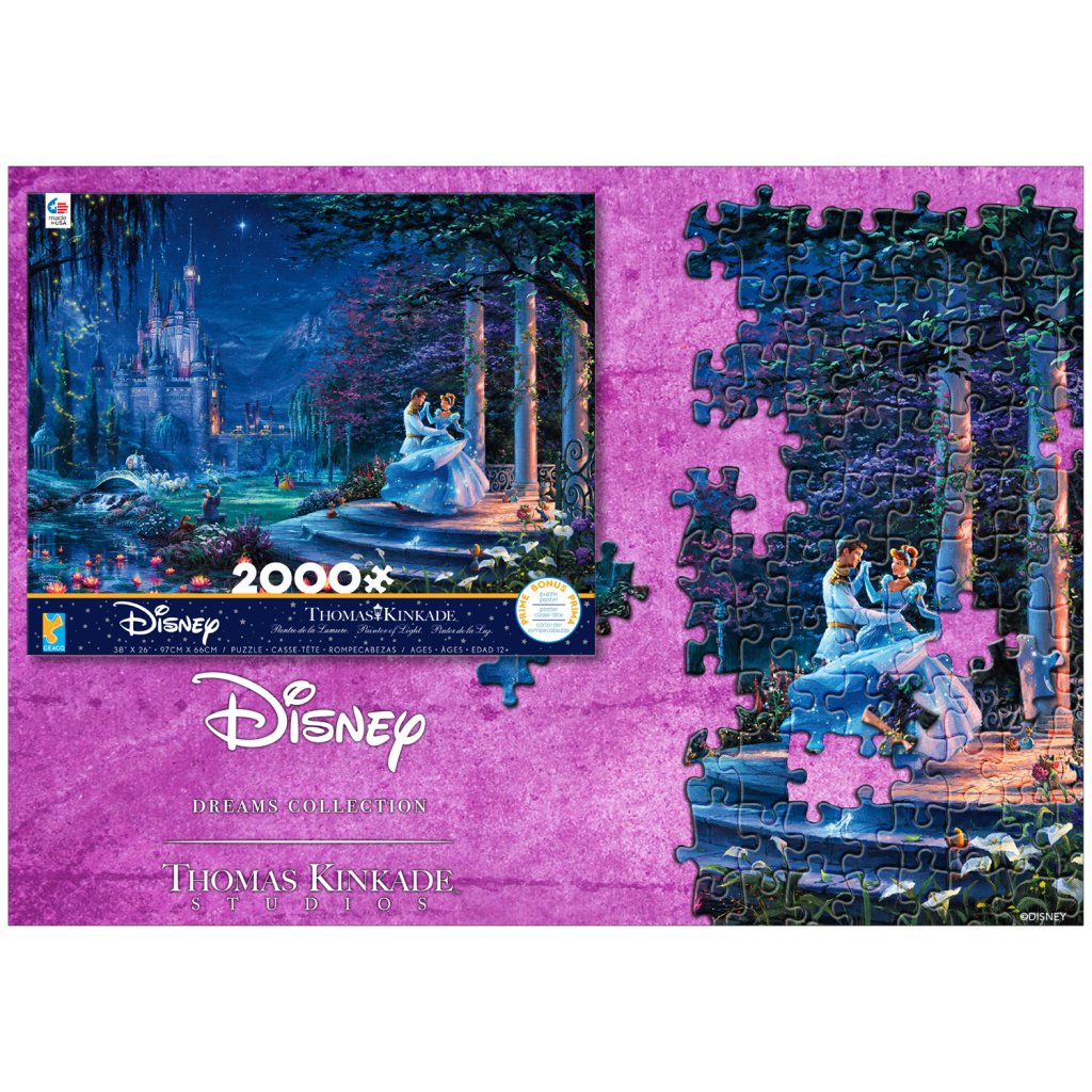 Cinderella  2000 Piece Puzzle from Ceaco