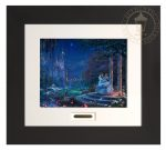 Disney Cinderella Dancing in the Starlight – 22″ x 24.5″ Modern Home Collection (Espresso Frame)