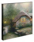 Collector's Cottage – 20″ x 20″ Gallery Wrapped Canvas