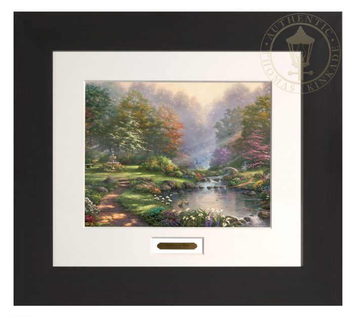Reflections of Faith – 22″ x 24.5″ Modern Home Collection (Espresso Frame)