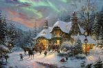 Santa's Night Before Christmas – Limited Edition Canvas