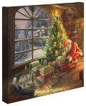 Santa's Special Delivery – 14″ x 14″ Gallery Wrapped Canvas