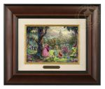 Sleeping Beauty – 10.5″ x 12.5″ Brushwork (Brushworks Burl Frame)