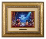 Mickey's 90 years of Magic – 10.5″ x 12.5″ Brushworks (Brushworks Gold Frame)